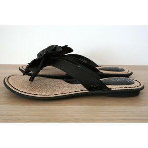 Born Shoes - BOC Born Concept Leather Slip On Floral Sandals